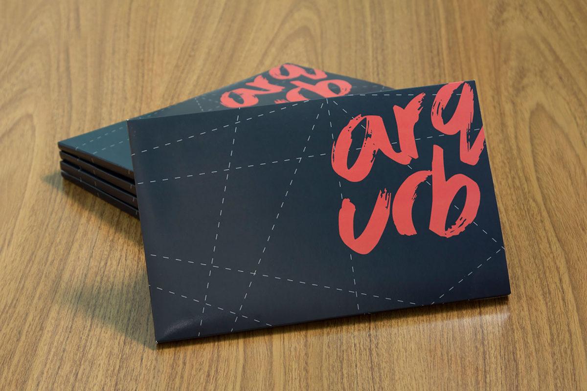 Convite de formatura criativo para turma de Arquitetura UFMG