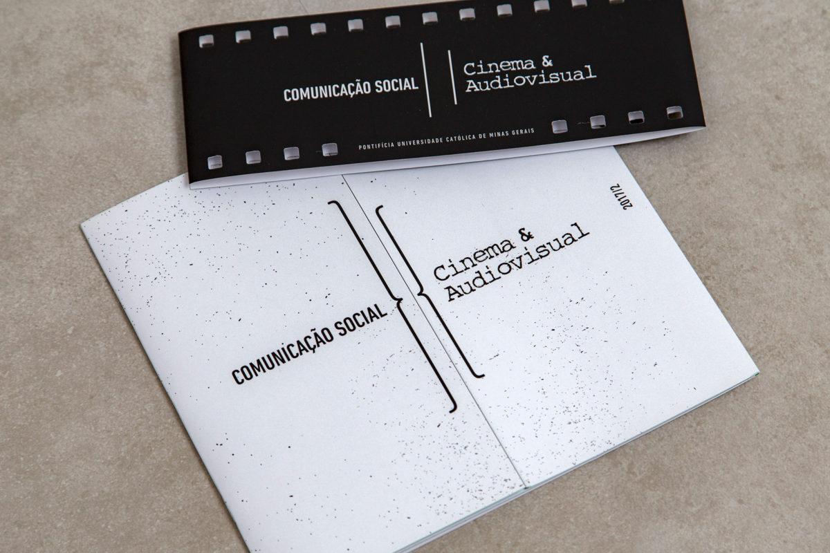 Convite de formatura criativo para turma de Cinema PUC