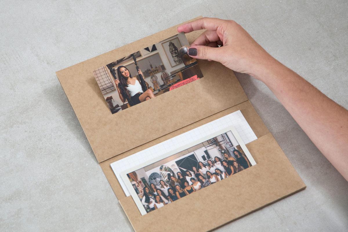 Convite de formatura criativo para turma de Design de Ambientes UEMG